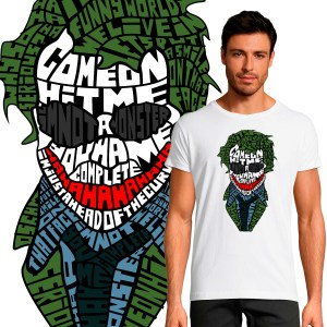 T-shirt Homme The Joker By KalliGram