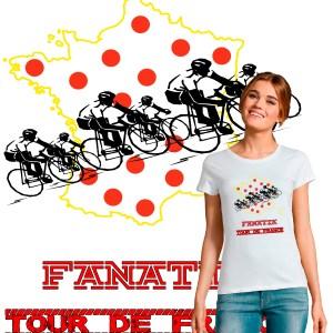 t-shirt femme fanatik Tour de France