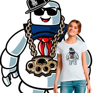 T-shirt pop culture Bibendum Chill los angeles