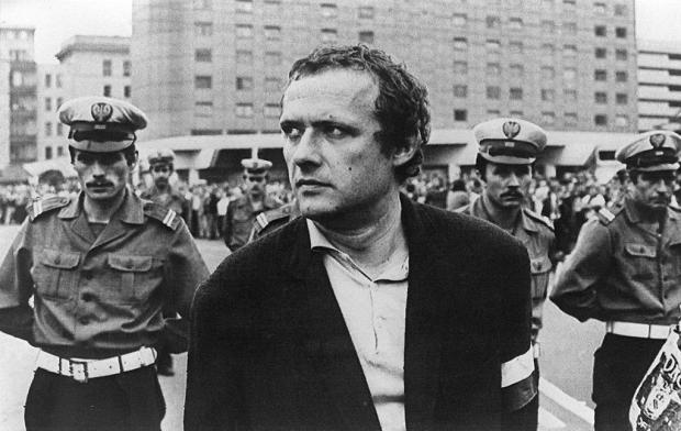 Adam Michnik az ellenzék idején (Varsó, 1981)