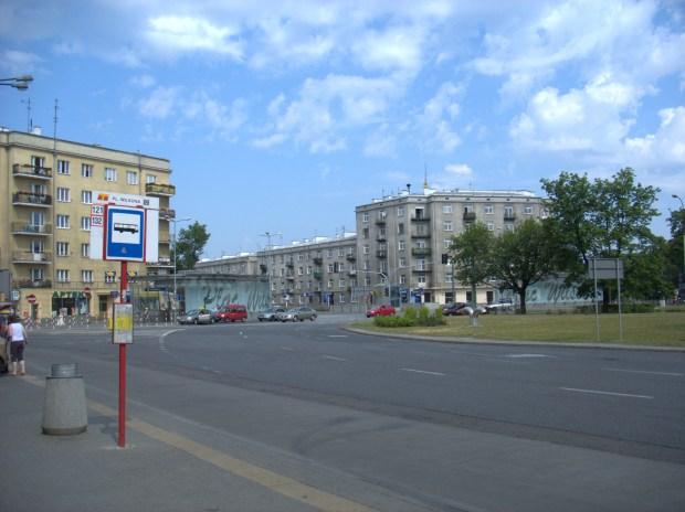 Żoliborz központi tere, a Plac Wilsona manapság (2007)