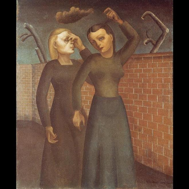 Felix Nussbaum: Sirató nők