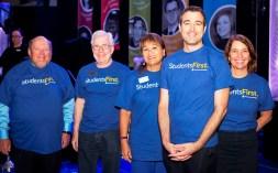 The PCC Governing Board: Scott Stewart, Mark Hanna, Sylvia Lee, Demion Clinco and Martha Durkin