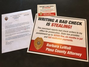 Pima County Attorney bad check program