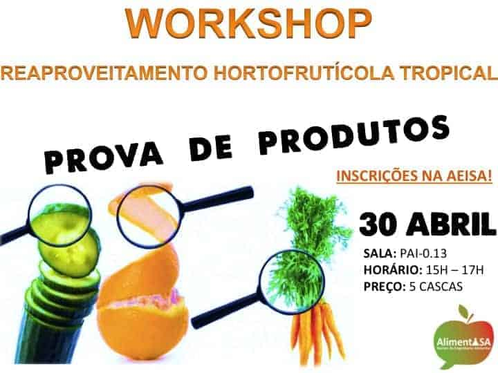 Workshop de Reaproveitamento de Produtos