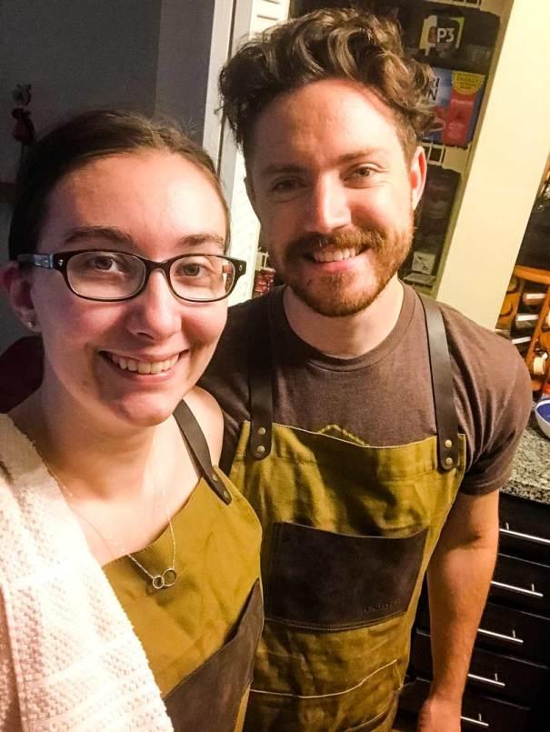 Jaime and Sarah - Cooking Time!