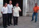 With mons. Tagle, Imus
