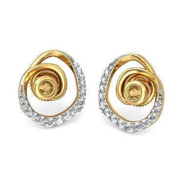 Fancy Gold earrings for girls