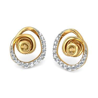 Fancy Gold earrings for girls