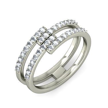 Multistone Diamond Rings
