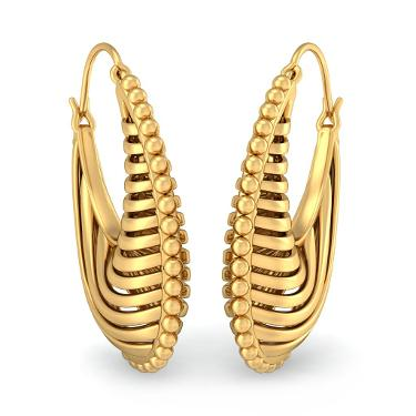 Beautiful hoop earrings designs