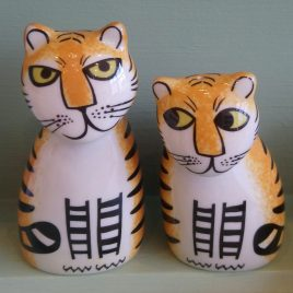 Tiger Salt & Pepper Shakers