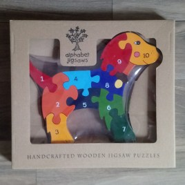 Number Dog Jigsaw