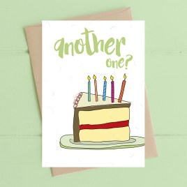Another One Birthday Card