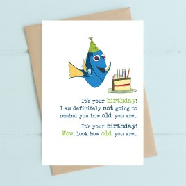 How Old You Are Birthday Card