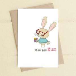 Love You Mum Card