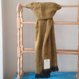 Mustard Alpaca Scarf