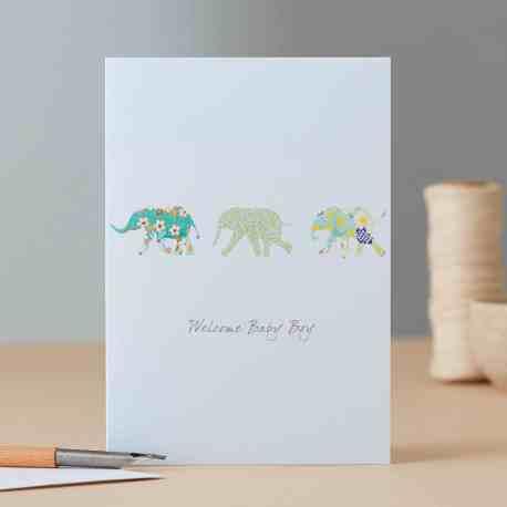 Baby Boy Elephants EH94