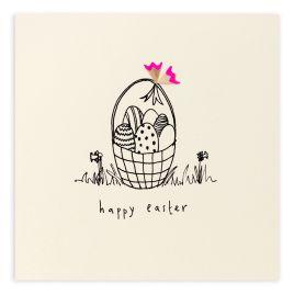 Easter Egg Basket Card