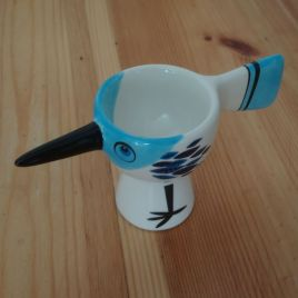 Blue Bird Egg Cup