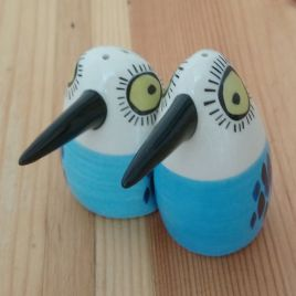 Blue Bird Salt & Pepper Shakers