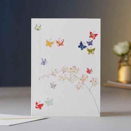 Butterflies & Orchids EH09