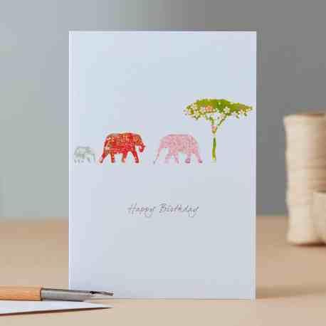 Elephants & Tree EH88