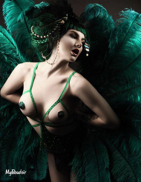 Pin up @My Boudoir : Amber Von Tassel