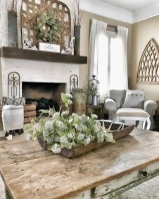 Awesome Modern Rustic Living Room Decor Ideas 13