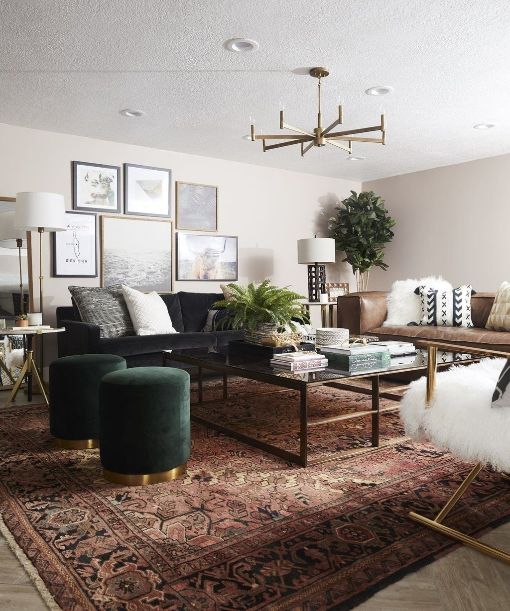 Awesome Modern Rustic Living Room Decor Ideas 14