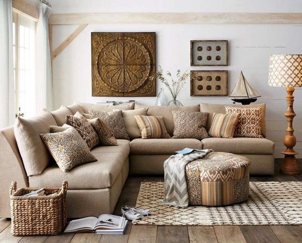 Awesome Modern Rustic Living Room Decor Ideas 17