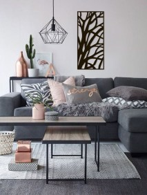Awesome Modern Rustic Living Room Decor Ideas 27