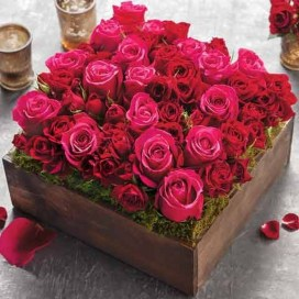 Lovely Rose Arrangement Ideas For Valentines Day 13