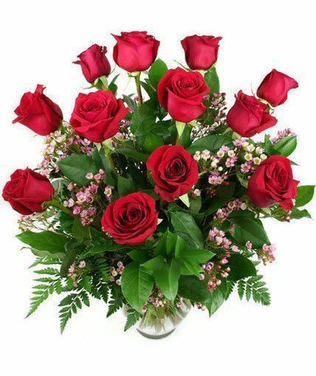 Lovely Rose Arrangement Ideas For Valentines Day 32