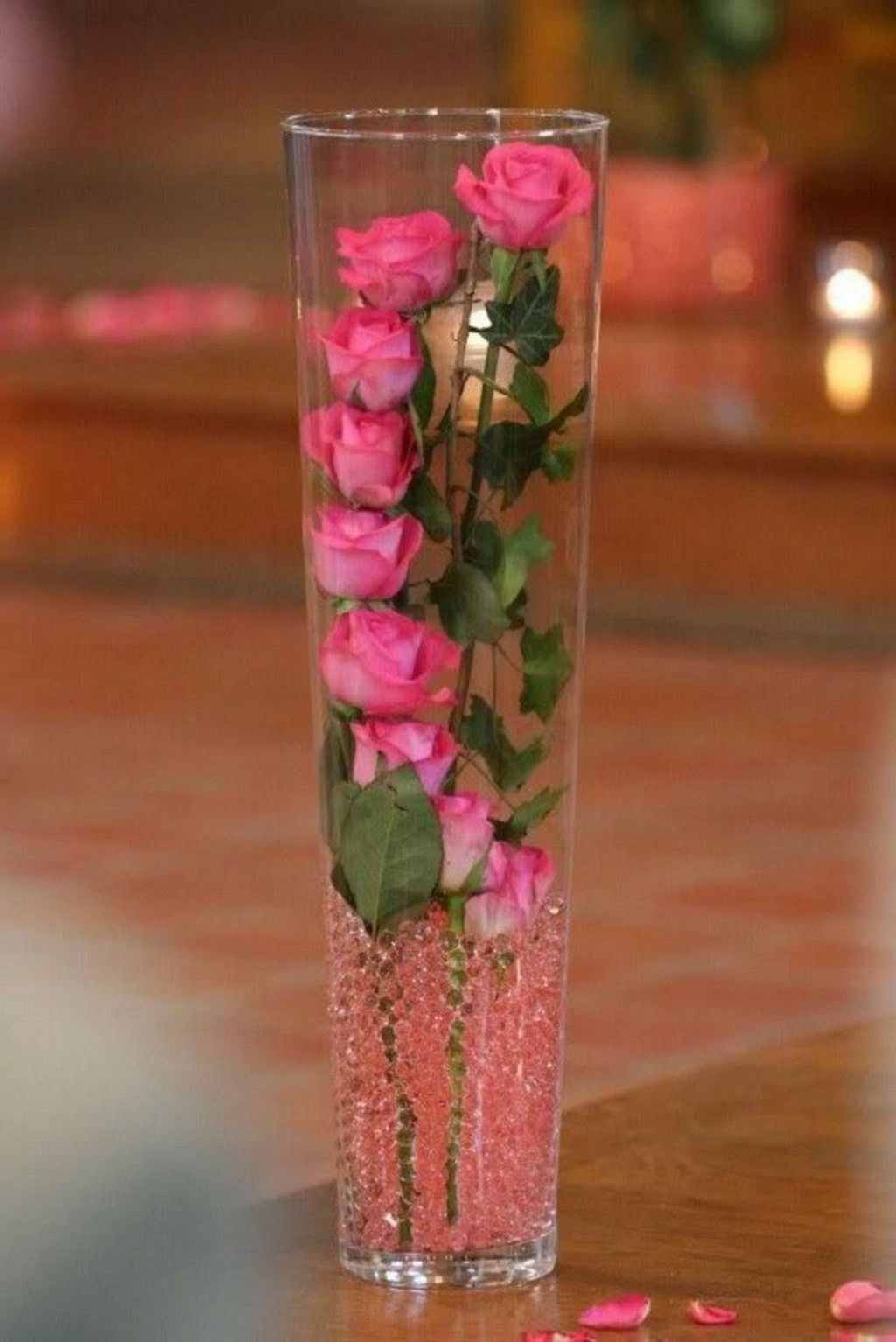 Lovely Rose Arrangement Ideas For Valentines Day 50