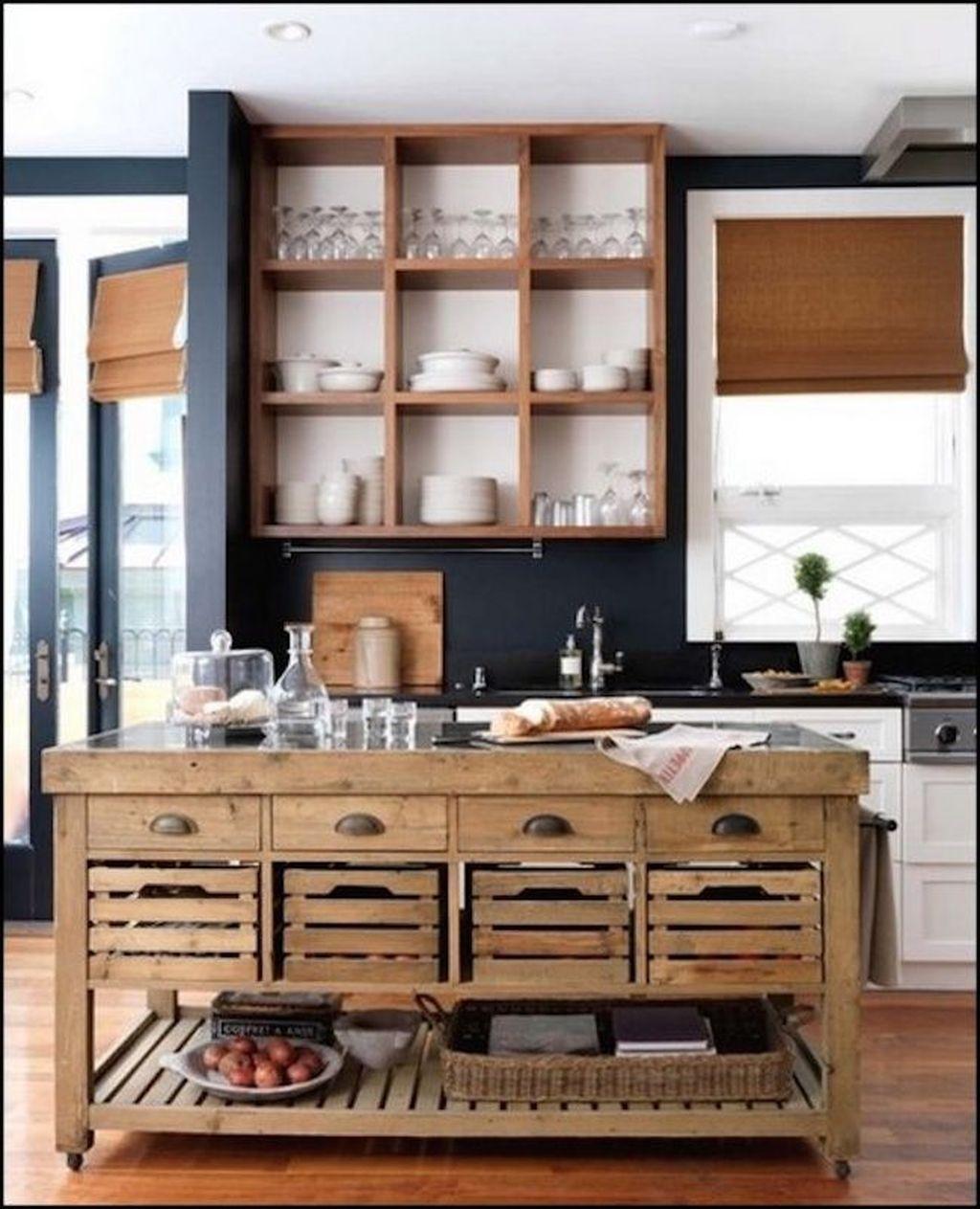 28 Small Kitchen Design Ideas: Awesome Rustic Kitchen Island Design Ideas 28