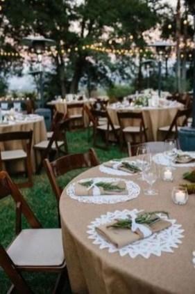 Beautiful Backyard Wedding Decor Ideas To Get A Romantic Impression 18
