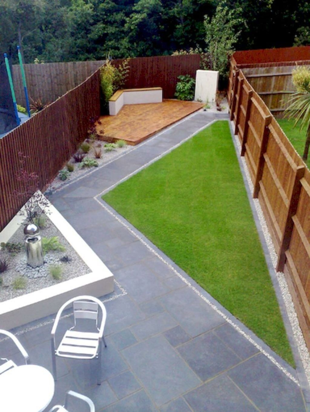 Beautiful Modern Backyard Landscaping Design Ideas 07