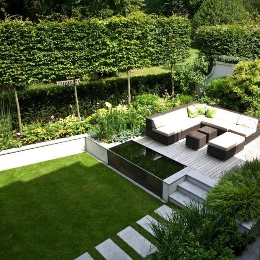 Beautiful Modern Backyard Landscaping Design Ideas 15