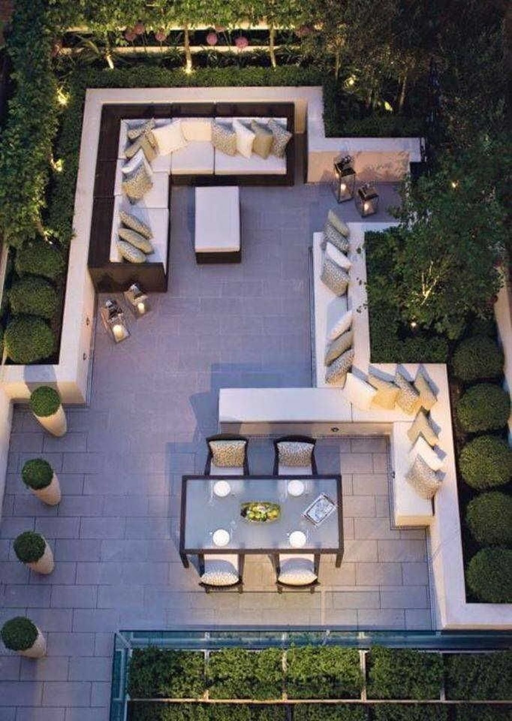 Beautiful Modern Backyard Landscaping Design Ideas 32