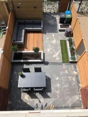 Beautiful Modern Backyard Landscaping Design Ideas 36
