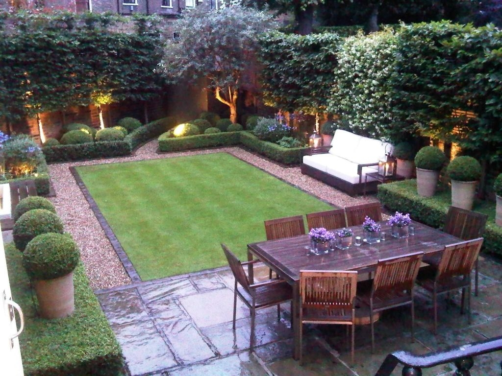 Beautiful Modern Backyard Landscaping Design Ideas 38