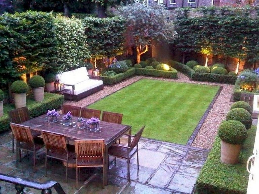 Beautiful Modern Backyard Landscaping Design Ideas 46