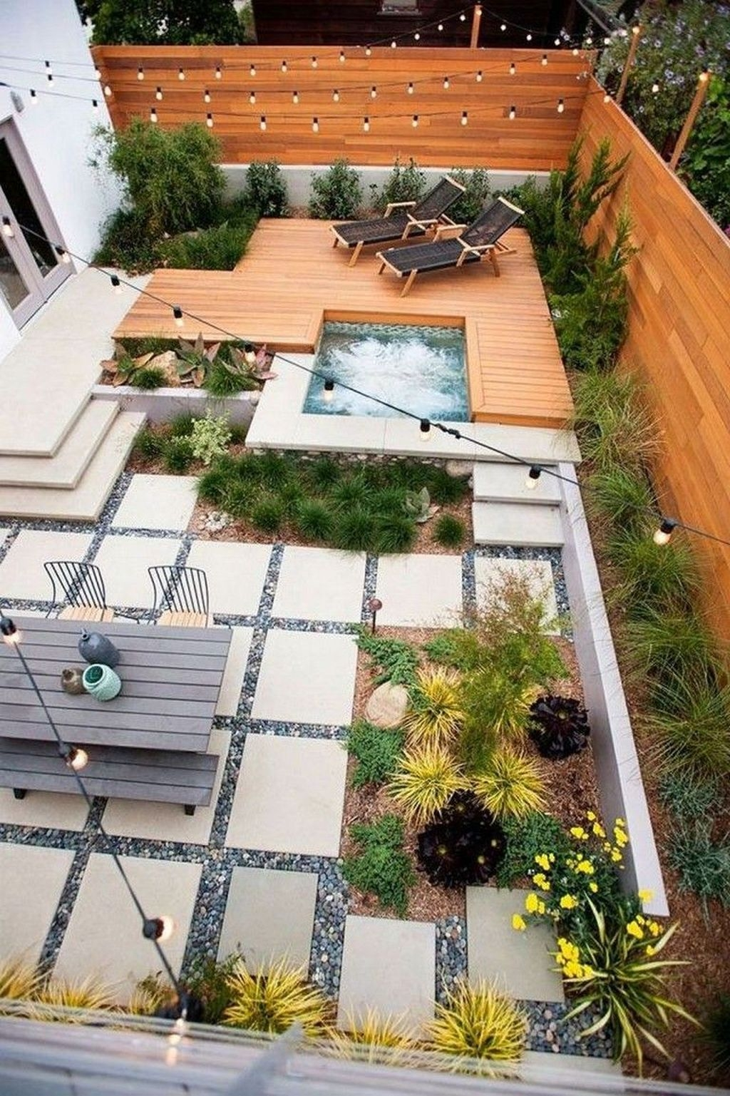 Beautiful Modern Backyard Landscaping Design Ideas 47