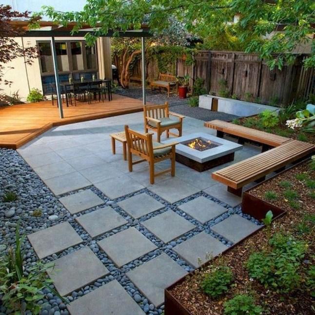 Beautiful Modern Backyard Landscaping Design Ideas 48
