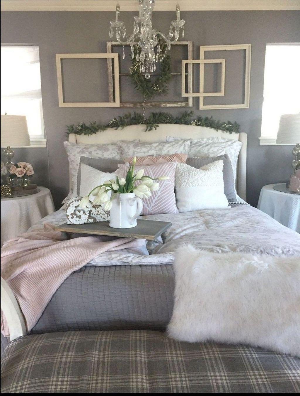 44 Beautiful Modern Farmhouse Master Bedroom Decoration ... on Master Bedroom Farmhouse Bedroom Images  id=67332