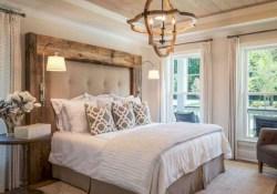 Beautiful Modern Farmhouse Master Bedroom Decoration Ideas 17