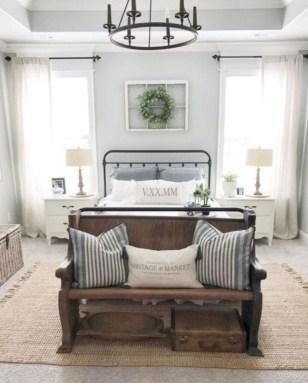 Beautiful Modern Farmhouse Master Bedroom Decoration Ideas 42