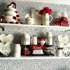 Cute Farmhouse Style Valentine Decorations 01