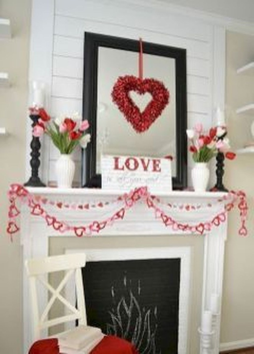 Cute Farmhouse Style Valentine Decorations 02